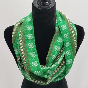 Holiday Infinity Scarf | Multicolor